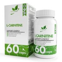 NaturalSupp L-CARNITINE 550мг 60 капс