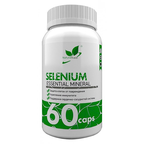 NaturalSupp SELENIUM 100мкг 60 капс