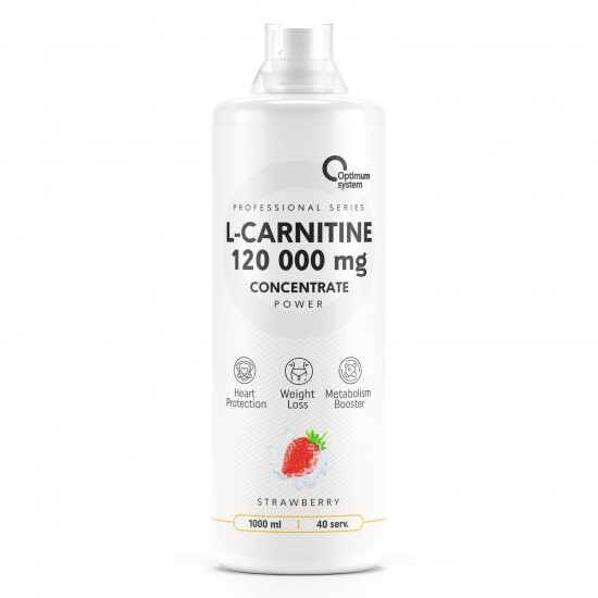 OPTIMUM SYSTEM L-Carnitine 1000мл, Клубника