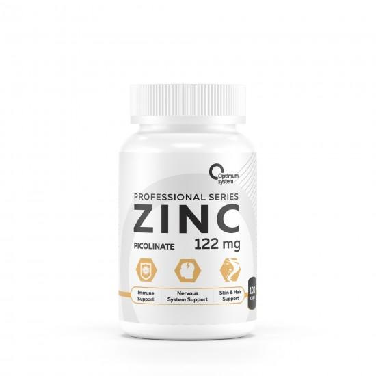OPTIMUM SYSTEM ZINC Picolinate 100 капс