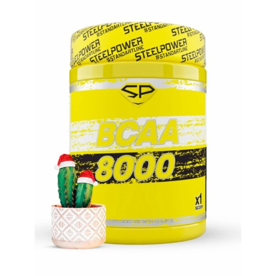 STEEL POWER BCAA 8000 300г, Рождественский кактус