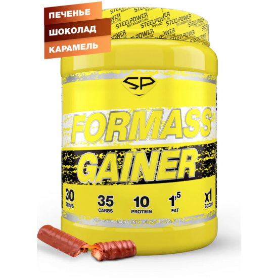 STEEL POWER FOR MASS GAINER 1,5кг, Твикс