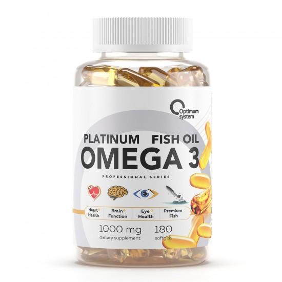 OPTIMUM SYSTEM OMEGA-3 180 капс