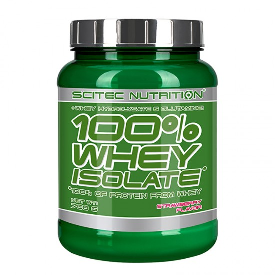 SCITEC Whey ISOLATE 700г, Клубника