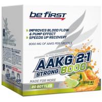 BE FIRST AAKG 2:1 8000 25мл, Цитрусовый микс