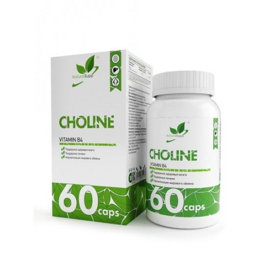 NaturalSupp CHOLINE 60 капс