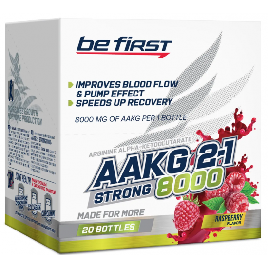 BE FIRST AAKG 2:1 8000 25мл, Малина