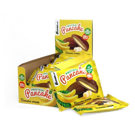 BOMBBAR Protein Pancake 40г, Банановый крем