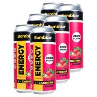 BOMBBAR Энергетик 500мл, Клубника-земляника