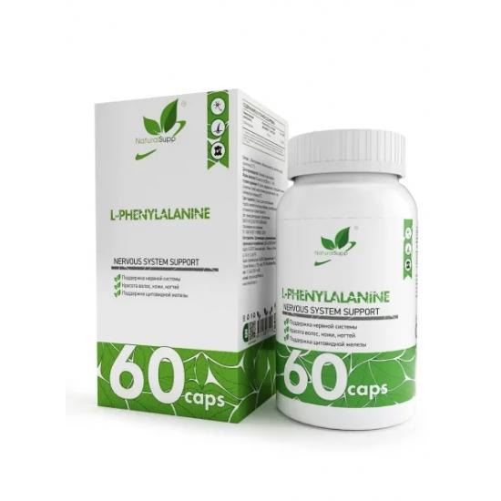 NaturalSupp L-PHENYLALANINE 60 кап