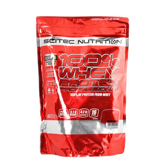 SCITEC WHEY Protein Professional 500г, Шоколад-печенье