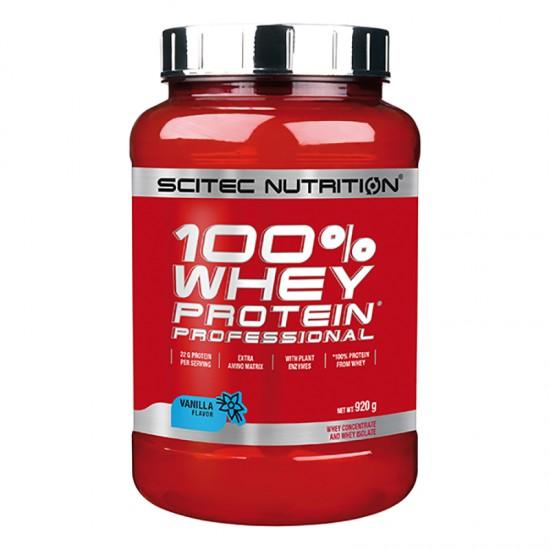 SCITEC WHEY Protein Professional 920г, Шоколад-печенье