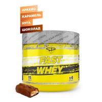 STEEL POWER Fast Whey Protein 300г, Арахис-Карамель-Нуга-Шоколад