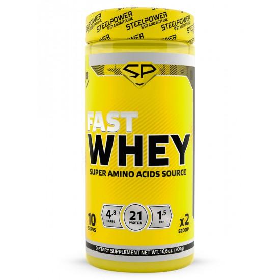 STEEL POWER Fast Whey Protein 300г, Печенье шоколад карамель (твикс)