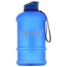 FitRule Бутыль прорезиненная 1,3л (крышка), Синий