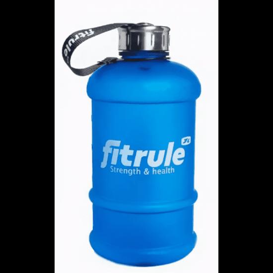 FitRule Бутыль прорезиненная 2,2л (крышка), Синий