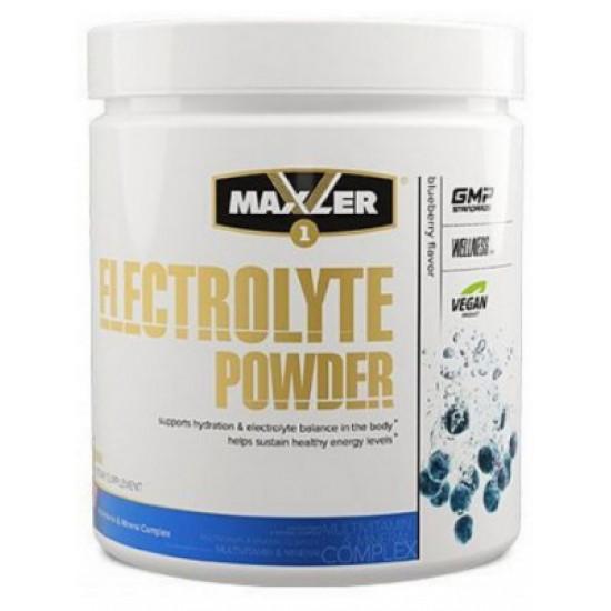 MAXLER Electrolyte Powder 204 гр, Черника