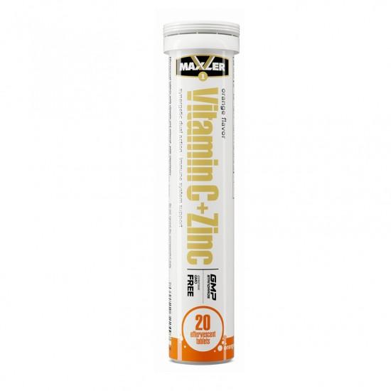 MAXLER Vitamin C+Zinc 20табл, Апельсин