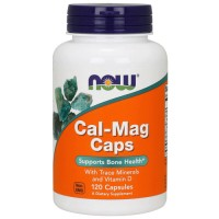 NOW Cal-Mag + D 120 кап,