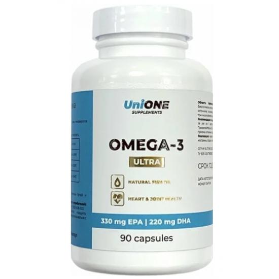 UniONE Omega-3 ULTRA 90 кап