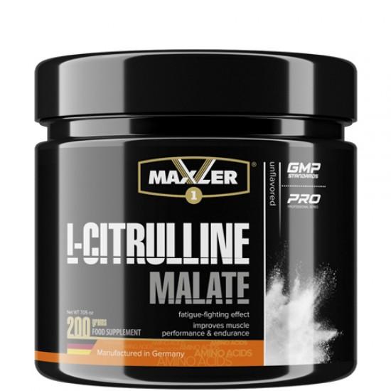 MAXLER L-CITRULLINE MALATE 200г