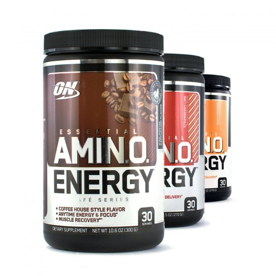 OPTIMUM NUTRITION Amino Energy 30 порц, Апельсин