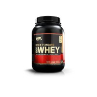 OPTIMUM NUTRITION Whey Protein Gold Standard 908 г, Банановый