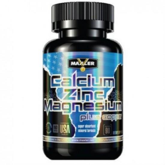 MAXLER Calcium Zinc Magnesium 90 таб