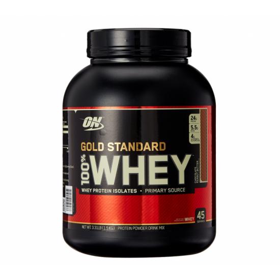OPTIMUM NUTRITION Whey Protein Gold Standard 2.27 кг, Клубника банан