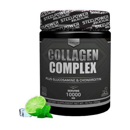 STEEL POWER Collagen complex 300г, лимон фреш