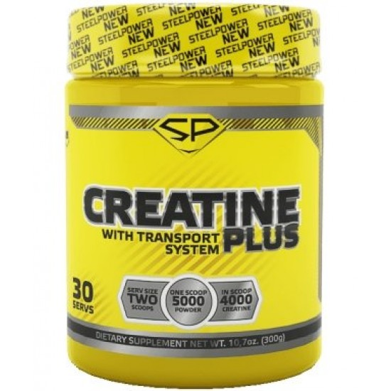 STEEL POWER Creatine Plus 300г, Апельсин