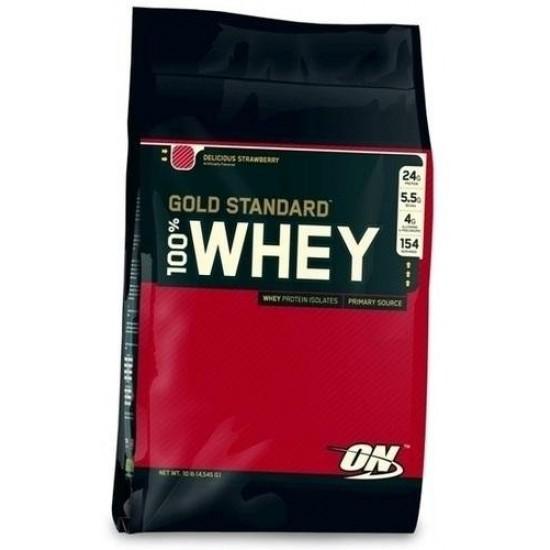 OPTIMUM NUTRITION 100% Whey Protein Gold Standard 10lb (4,54кг)