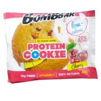 BOMBBAR Протеиновое печенье 40г, Вишня