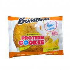 BOMBBAR Протеиновое печенье 40г, Апельсин-имбирь