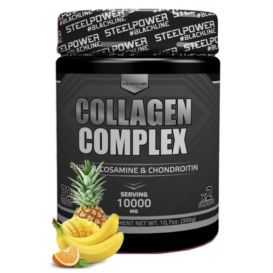STEEL POWER Collagen complex 300г, Тропик микс