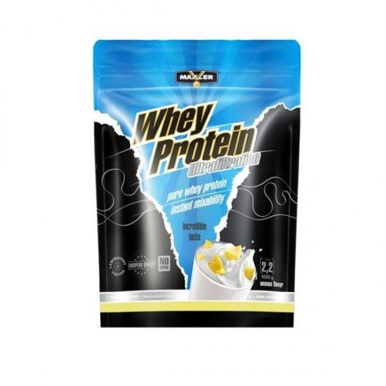 MAXLER Ultrafiltration Whey Protein (Пакет) 1 кг, Клубника