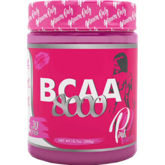 STEEL POWER BCAA 8000 Pink 300г, Бабл-гам