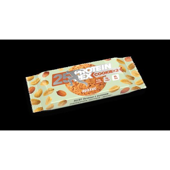 ProteinRex Протеиновое печенье 50 g, Арахис