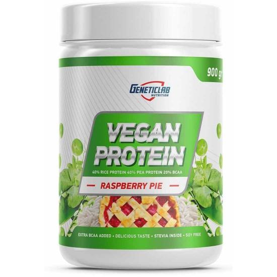 GENETICLAB VEGAN Protein 900г, Малиновый пирог