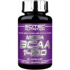 SCITEC Mega BCAA 1400 (90 капсул)