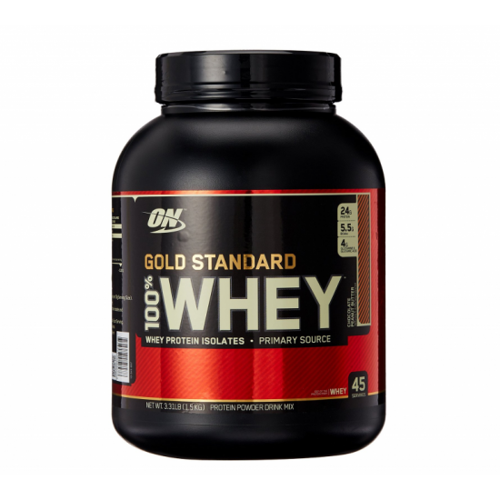 OPTIMUM NUTRITION Whey protein Gold standard 1,6 кг, Капучино
