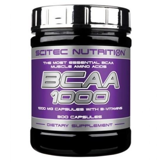 SCITEC BCAA 1000 (300 капсул)