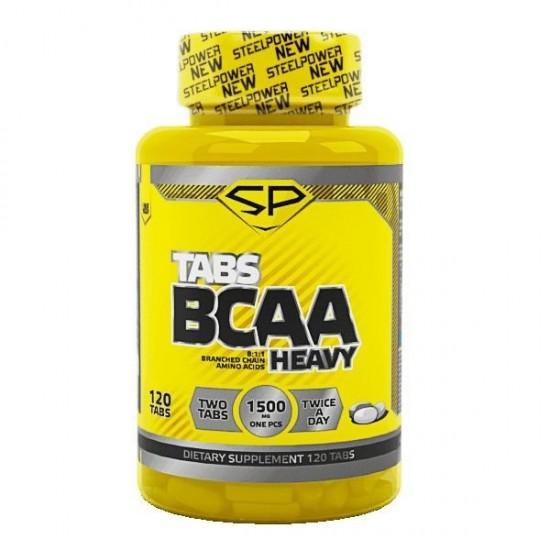STEEL POWER Heavy BCAA 8-1-1 120 таб