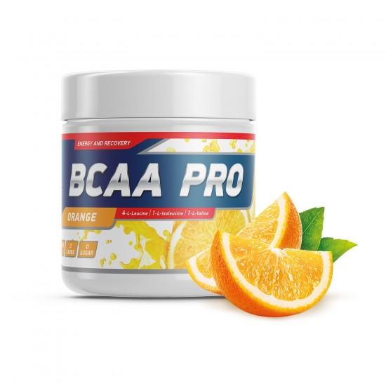 GENETICLAB BCAA Pro Powder 250 г, Апельсин