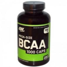 OPTIMUM NUTRITION BCAA 1000 200 кап