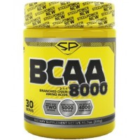 STEEL POWER BCAA 8000 300г, Тропик микс