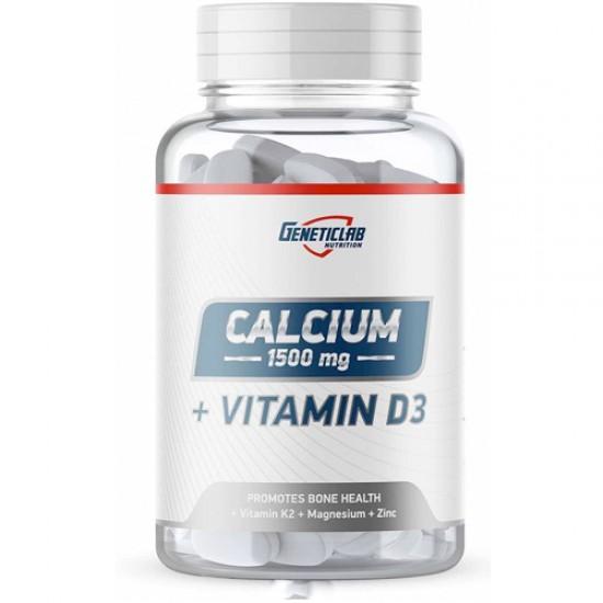GENETICLAB CALCIUM+D3 90 табл