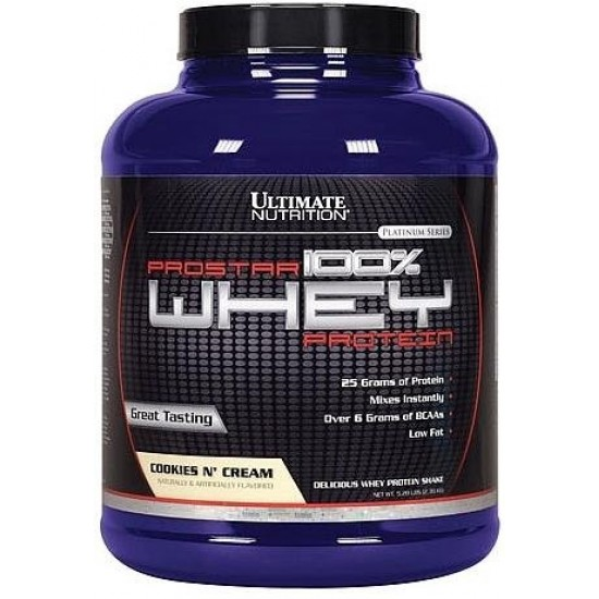 Ultimate Nutrition Prostar 100% Whey 2lb (0,9кг)