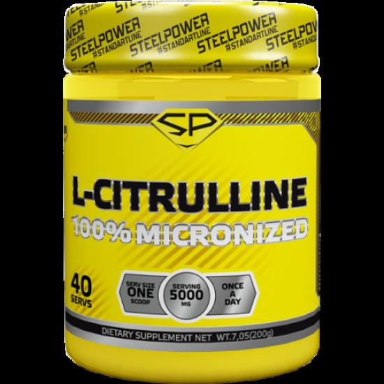 STEEL POWER L-CITRULLINE, 200 гр