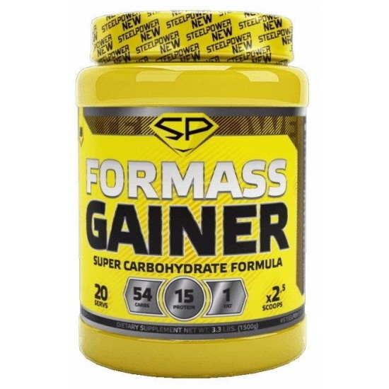 STEEL POWER FOR MASS GAINER 1,5кг, Молочное печенье
